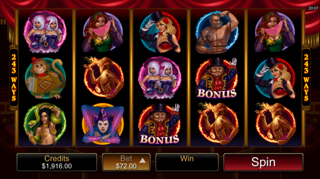 Twisted Circus Slot Review