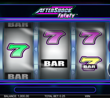 Aftershock Frenzy Mobile Slot