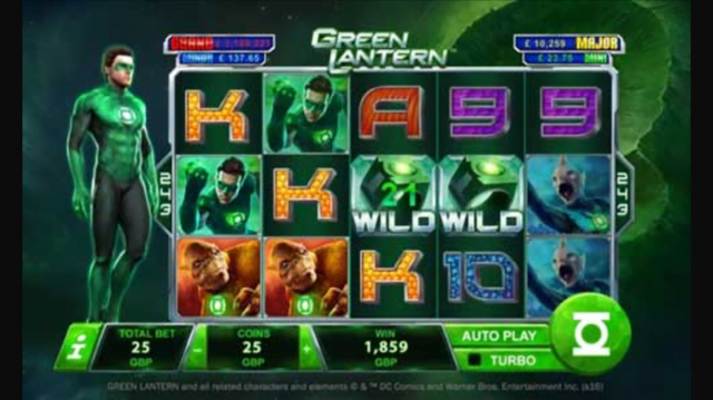 Green Lantern Slot Review