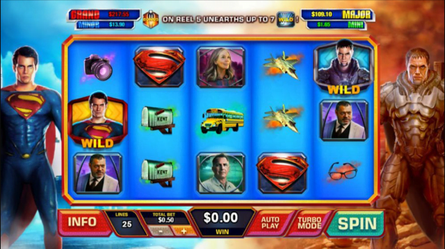 Man Of Steel Slot Review