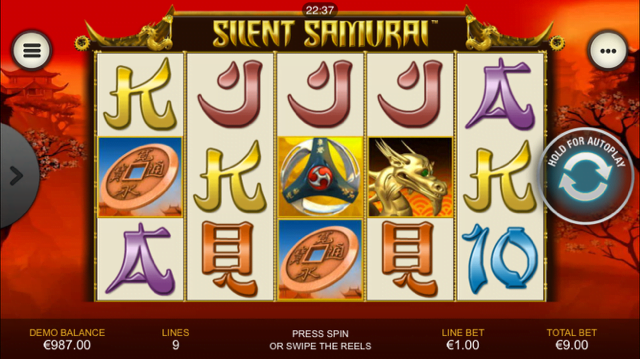 Silent Samurai Slot Review