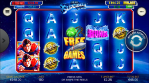 Superman The Movie Slot Review