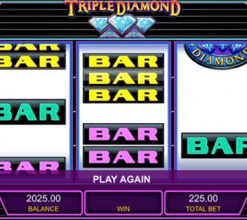 Triple Diamond Mobile Slot