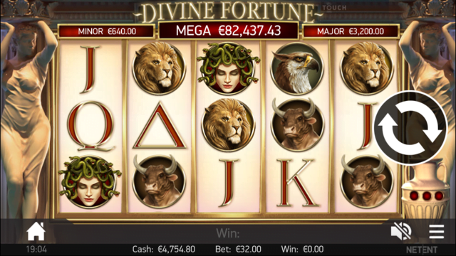 Divine Fortune Slot Review