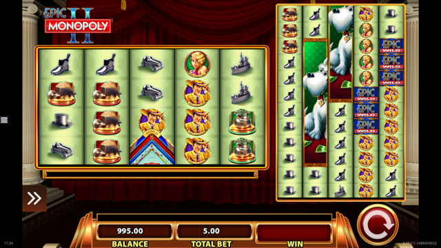 Epic Monopoly II Slots - Free Slot Machine Game - Play Now