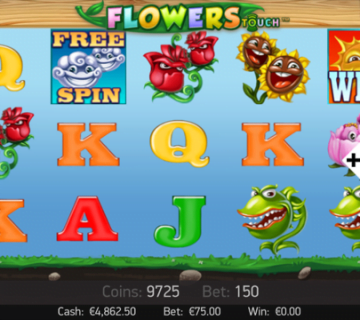 Flowers Mobile Slot Machine