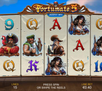 Fortunate 5 Slot Review