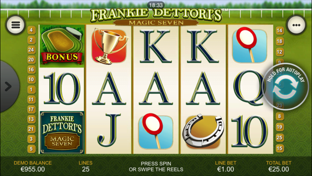 Frankie Dettori Slot Review