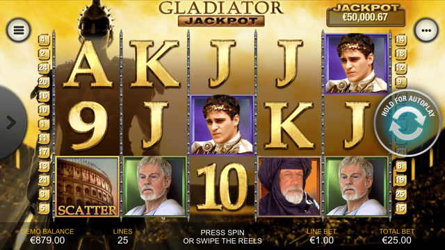 Gladiator Jackpot Slot Review