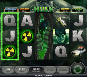 Incredible Hulk Mobile Slot