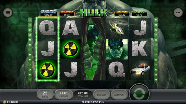Incredible Hulk Slot Review
