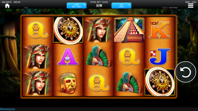 Montezuma Slot Review