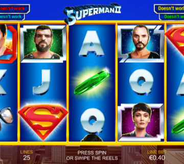 Superman II Slot Review