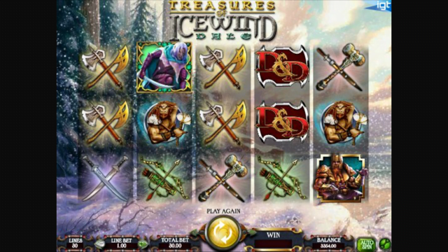 Dungeons and Dragons Treasures of Icewind Dale Slot Review