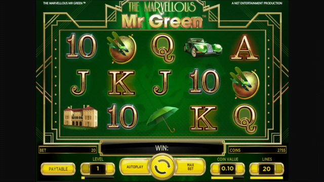 The Marvellous Mr Green Slot Review