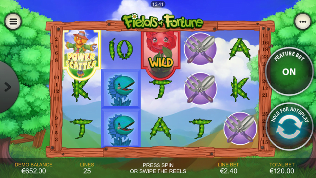Play Fields of Fortune Slots at Casino.com Canada