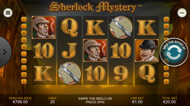 Sherlock Mystery Slot Review