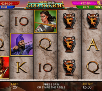 Age of the Gods God of Storms Slot Review