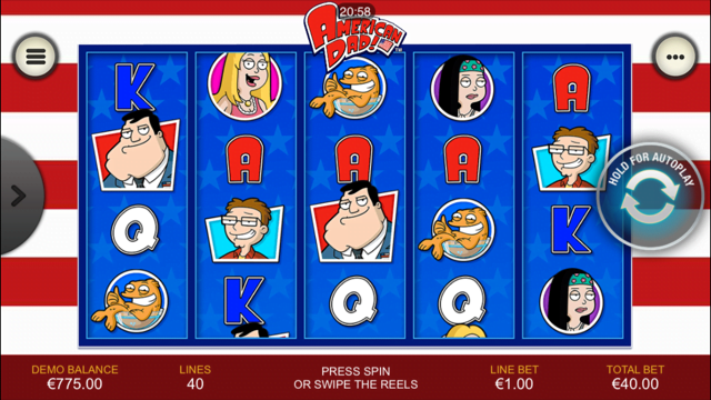 American Dad Slot Review