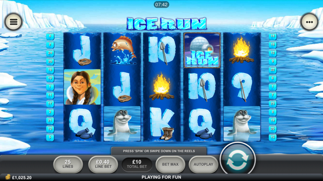 Ice Run™ Slot Machine Game to Play Free in Playtechs Online Casinos