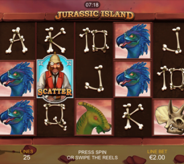 Jurassic Island Slot Review