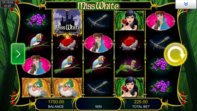 Miss White Slot Review