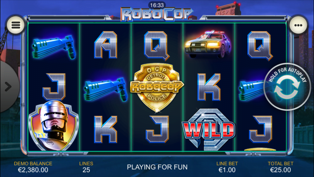 Robocop Slot Review