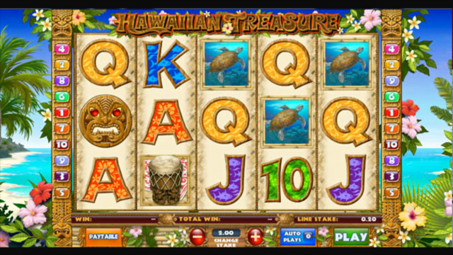 Hawaiian Treasure Slot Review