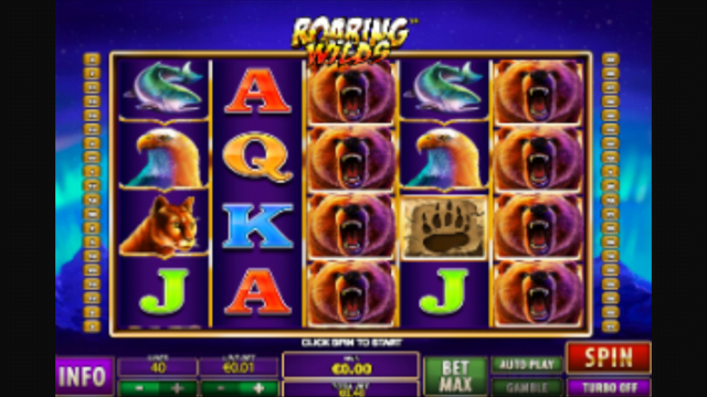 Roaring Wilds Slot Review