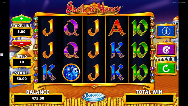 Sheik Yer Money Slot Review