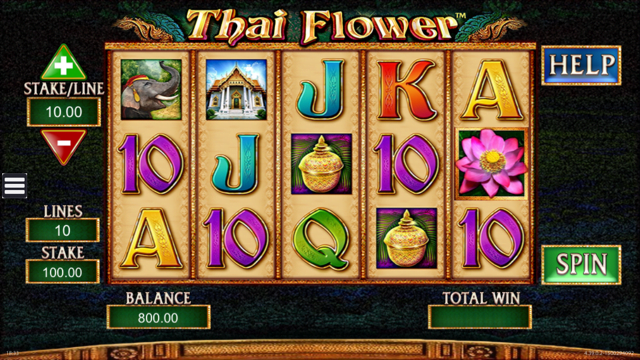 Thai Flower Slot Review