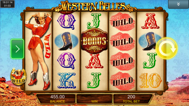 Western Belles Slot Review