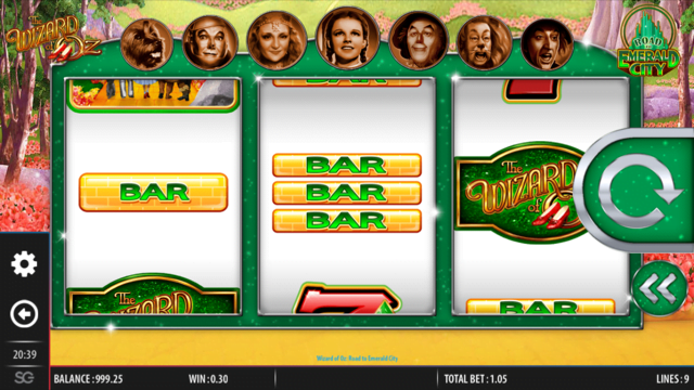 Wizard Of Oz Road To Emerald City Slot Review