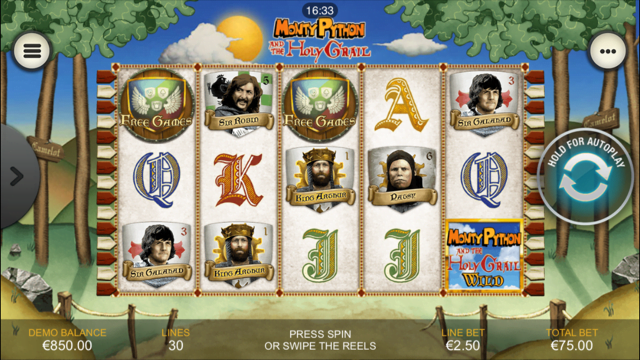 Monty Python And The Holy Grail Slot Review