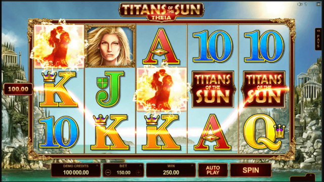 Titans Of The Sun Theia Slot Review