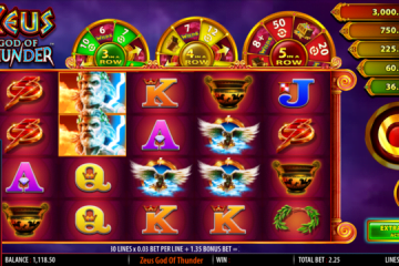 Zeus God Of Thunder Slot Review