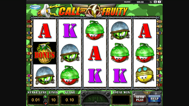 call of fruity slot review