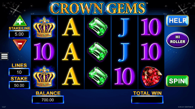 Crown Gems Slot Review