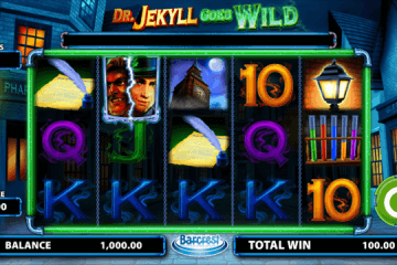 Dr Jekyll Goes Wild Slot Review