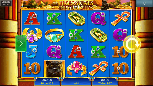 Treasures Of The Pyramids Slot Review
