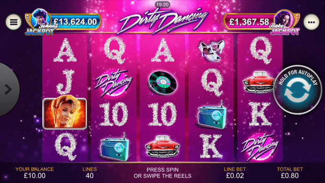 Dirty Dancing Slot Review