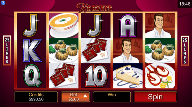 Harveys Slot Review