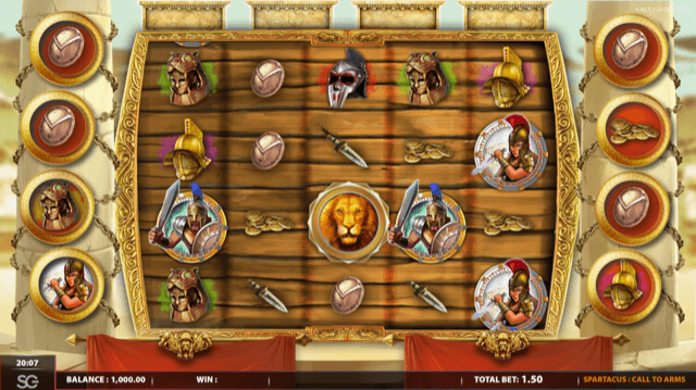 Spartacus Call To Arms Slot Review