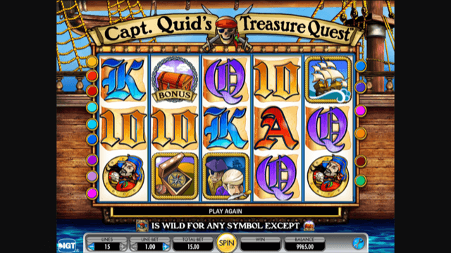 Captain Quid's Treasure Chest Slot Review