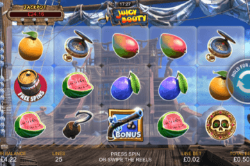 Juicy Booty Slot Review