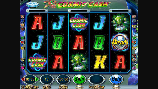 Money Mad Martians Cosmic Cash Slot Review