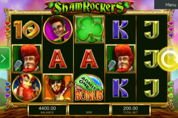 Shamrockers Slot Review