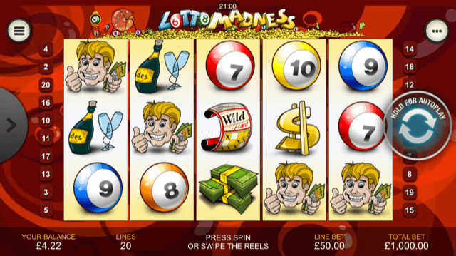 Lotto Madness Slot Review