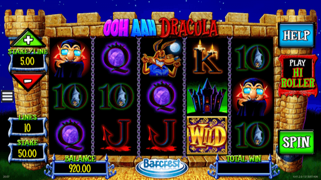Ooh Aah Dracula Slot Review