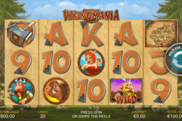 Viking Mania Slot Review